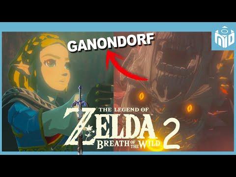 Zelda Breath of the Wild 2 - Secretos y Misterios del Trailer | N Deluxe