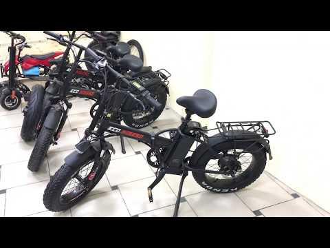 Обновленная модель - электро велосипед фэтбайк Eco Drive V5. Электро байк на все сезоны