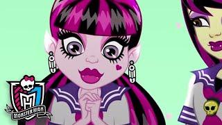 Monster High Россия 💜Коничива, Дракулаура!💜Том 5💜Мультфильмы для дет