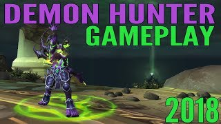 WoW Demon Hunter Gameplay 2018 - Havoc & Vengeance (All Specs) - World of Warcraft