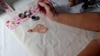 Ecobag Arara – Dicas de pintura com Rosana Duran – Parte 2