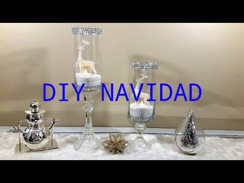 Diy Como Hacer Lujosos Candelabros De Cristal Para Navidadhow To Make Luxurious Crystal Chandeliers