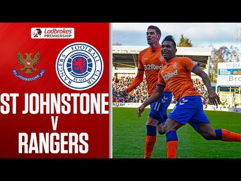 St Johnstone 1-2 Rangers | Morelos Double Earns Big Win | Ladbrokes Premiership