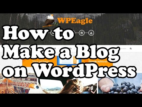 How to make a BLOG on WORDPRESS with AdSense 2016
