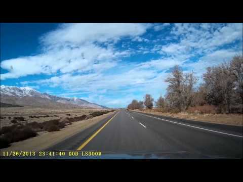 Mammoth Lakes Road Trip on Highway 395