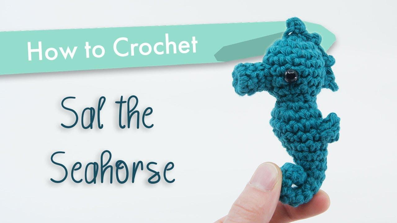 Amigurumi Seahorse Crochet Free Patterns- Crochet & Knitting | 720x1280