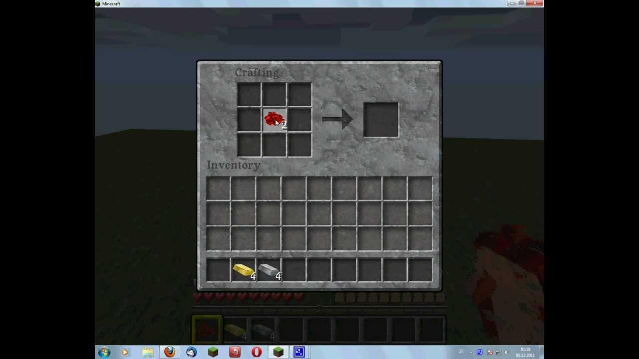 Minecraft Uhr Bauen