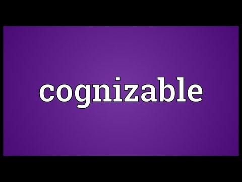 Header of cognizable