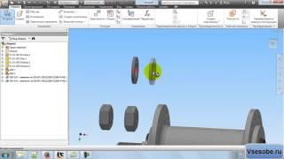 Создание сборочного чертежа в Autodesk inventor