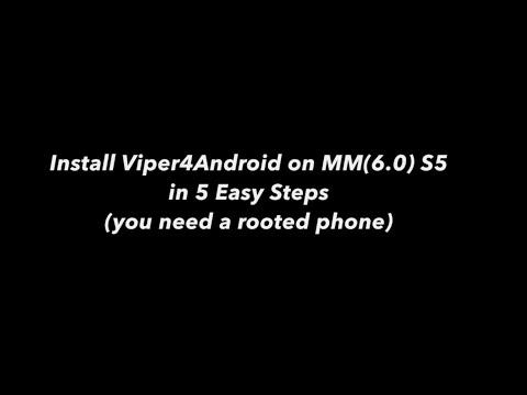 Viper4Android S5 Marshmallow Best & Easy Method! Stock Kernel!