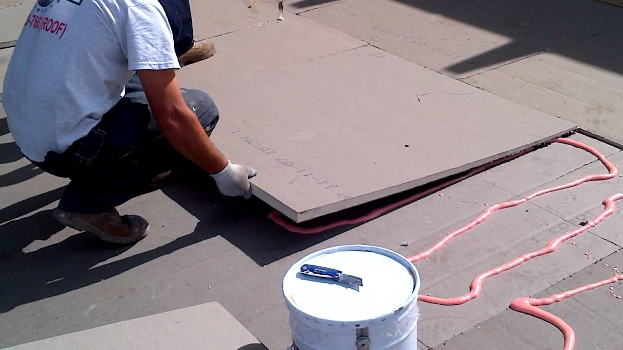 Foam Adhered Tapered Iso Installation Youtube