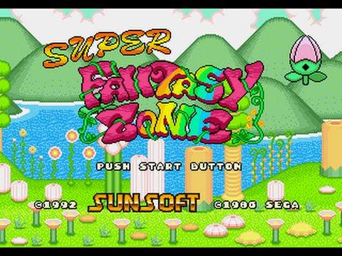Resultado de imagen de Super Fantasy Zone