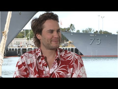 Taylor Kitsch Loves Living Where People