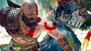 God of War 4 - New Combat System Trailer (2018)