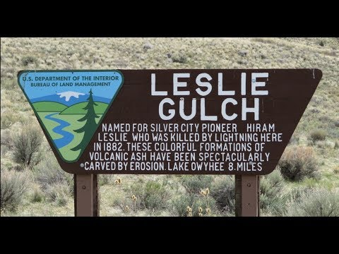 Leslie Gulch, Oregon