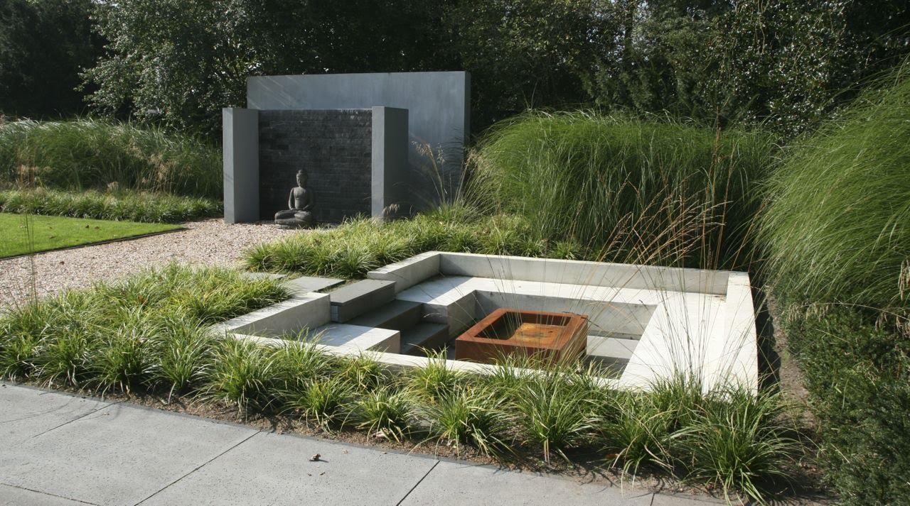 Moderne tuin te essen tuinmeesters youtube - Te dekken moderne tuin ...