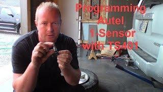 Autel TS401 programming Autel