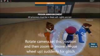 Roblox Prison life Guard room glitch by Bilalthefighter
