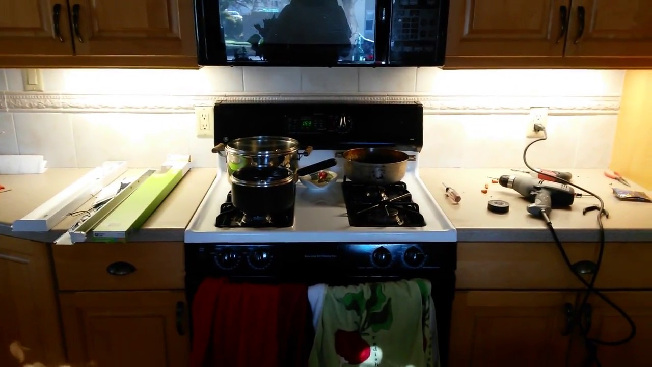 UNDER CABINET LED INSTALLATION - YouTube on home kitchen lighting, commercial kitchen lighting, slimline kitchen lighting, stainless steel kitchen lighting, undermount kitchen lighting, wall mounted kitchen lighting, portable kitchen lighting, cabinet lighting, pass through kitchen lighting, corner kitchen lighting, kitchen counter lighting, glass kitchen lighting,