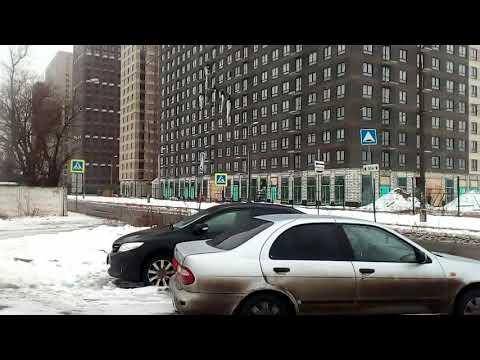 Котельники 1889 Новоегорьевское шоссе, Железнодорожная улица ЖК Белая Дача Парк зима день
