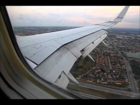 AMERICAN AIRLINES FLY 737 FROM GUATEMALA CITY ,TO MIAMI 04/15/2011