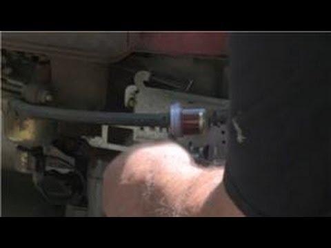 Lawn Mower Repair : Lawn Mower Choke Repair