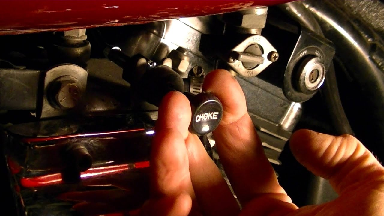 Harley CV40 Choke replaces cable