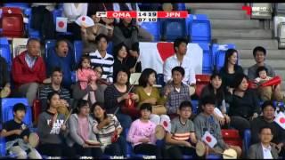 ハンドボール アジア選手権 日本vsオマーン 後半