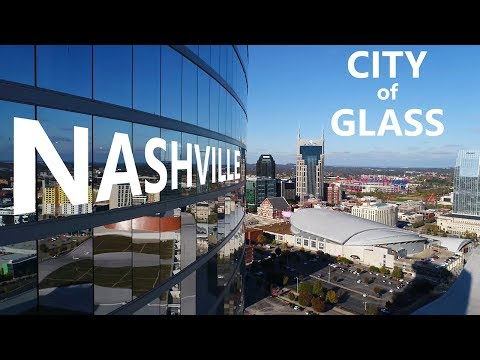 Drone Nashville - City of Glass - DJI Pantom 4 Pro - KEN HERON