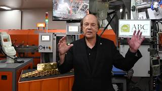 Jim Rickards Interview With ABC Bullion At ABC Refinery