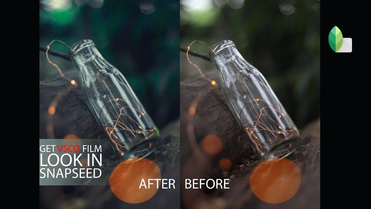 Get VSCO FILM Effect Using Snapseed    Snapseed Tutorial    VSCO Color     Vsco Effect In Snapseed