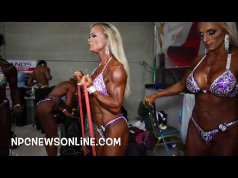 2016 NPC Nationals Womens Figure Nationals Backstage Video