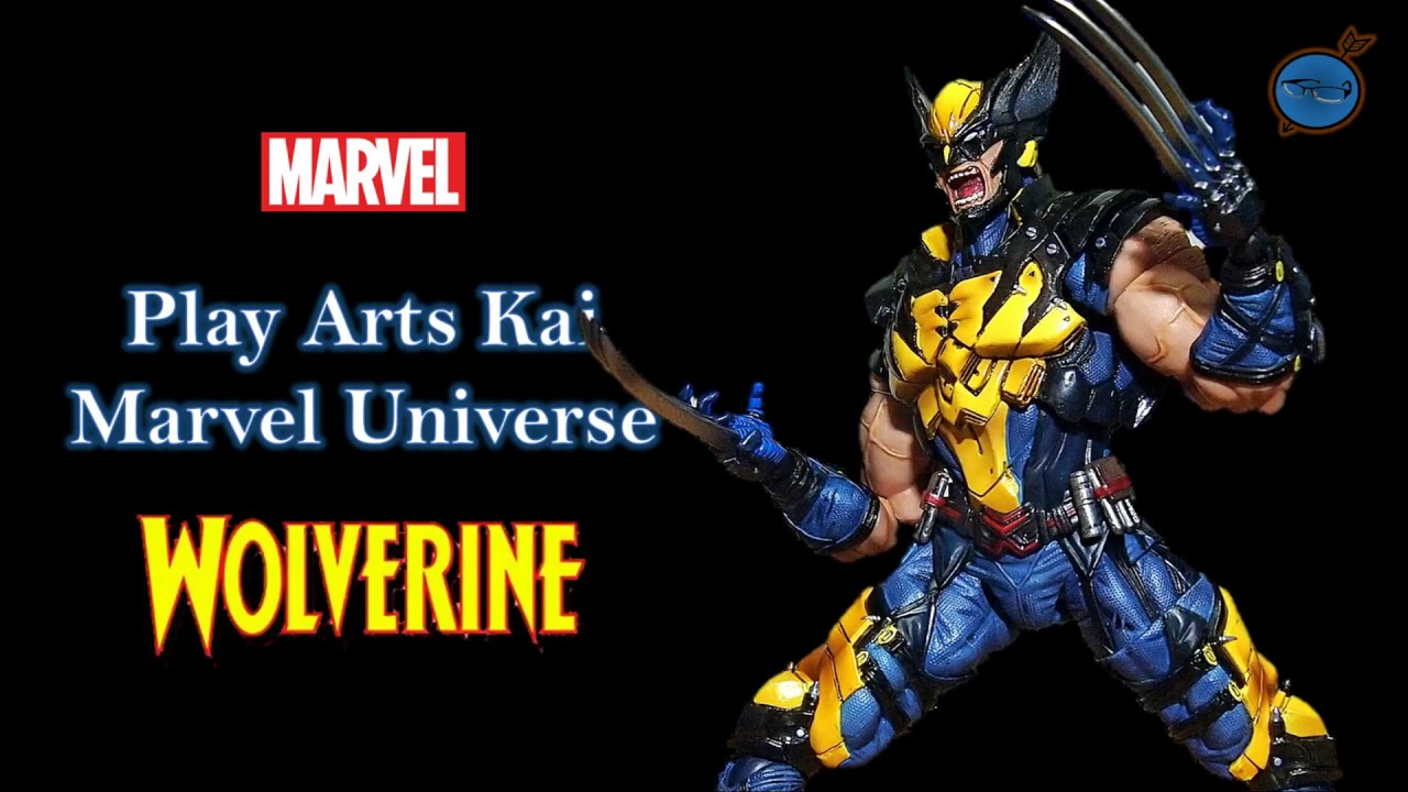Play arts kai wolverine marvel universe review youtube play arts kai wolverine marvel universe review voltagebd Images