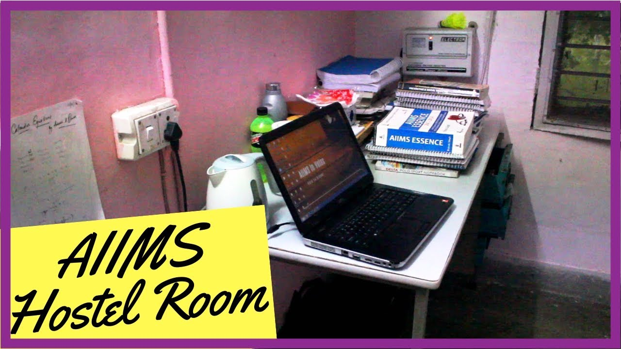 AIIMS Delhi Hostel Room Tour