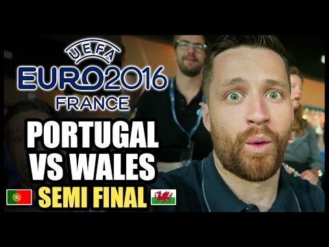 PORTUGAL VS WALES - EURO 2016 SEMI FINAL! RONALDO VS BALE! - YouTube