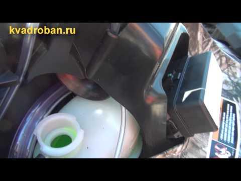 Вынос радиатора на G-2. Как залить антифриз?