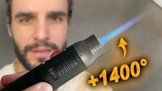 Le briquet le plus puissant du monde ! (+1400°)
