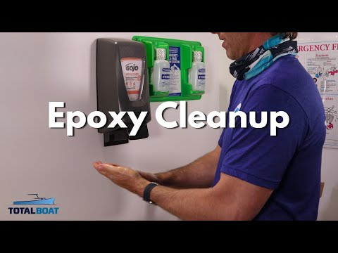 How to Cleanup Epoxy