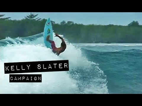 Kelly Slater's Section in 'Campaign' Is Peak 2000s Surfing