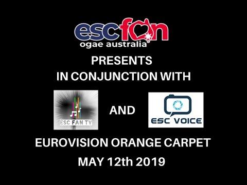 2019 Eurovision Orange Carpet: OGAE Australia