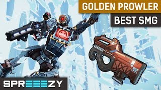 Golden Prowler is the BEST SMG | Apex Legends Gameplay | Full Auto Prowler