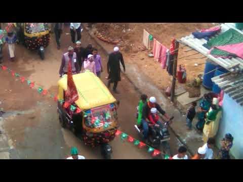 Juloose  Mohammade Jashne Eid Milad Un Nabi 2017 celebration Ramanagaram Karnataka...