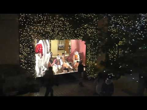 London by night, Edgware road, Oxford street, Regent street. Christmas lights London 2016