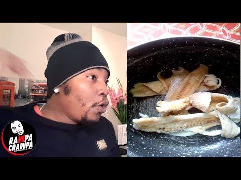 We Are Eating Snake Meat As Salt Fish #Fakefood ( 15 Oct 2018 ) Rawpa Crawpa Vlog