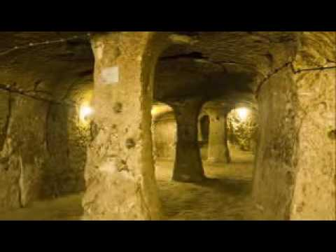 Man Discovers an Ancient Underground City during DIY at Home