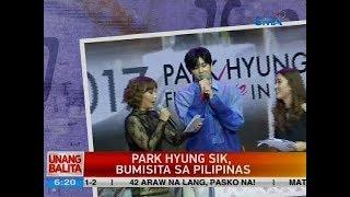 Video UB: Park Hyung Sik, bumisita sa Pilipinas download MP3, 3GP, MP4, WEBM, AVI, FLV Maret 2018