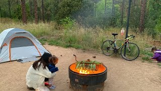 Family Camping for 8 Dąys in Sedona, Arizona