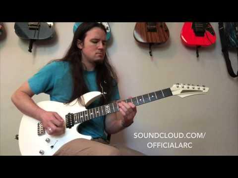 Aristides 060 demo - Ben Eller - Sleep guitar solo by Arc