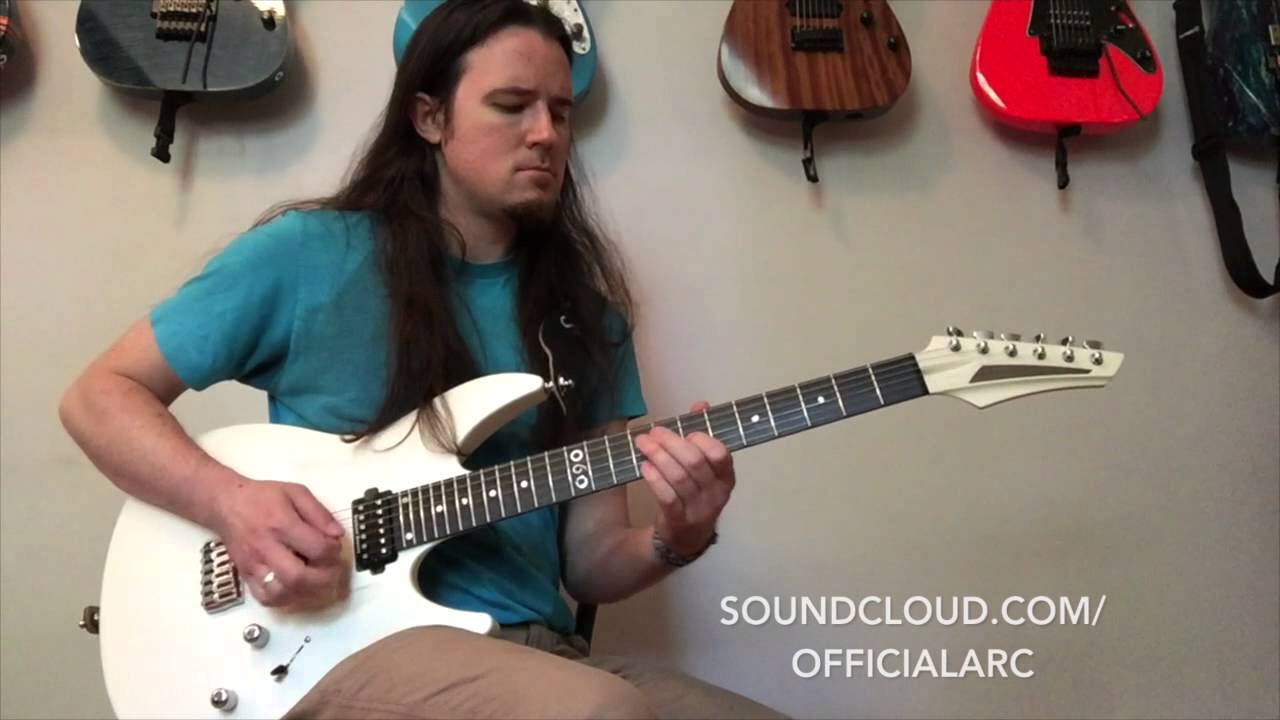 medium resolution of aristides 060 demo ben eller sleep guitar solo by arc