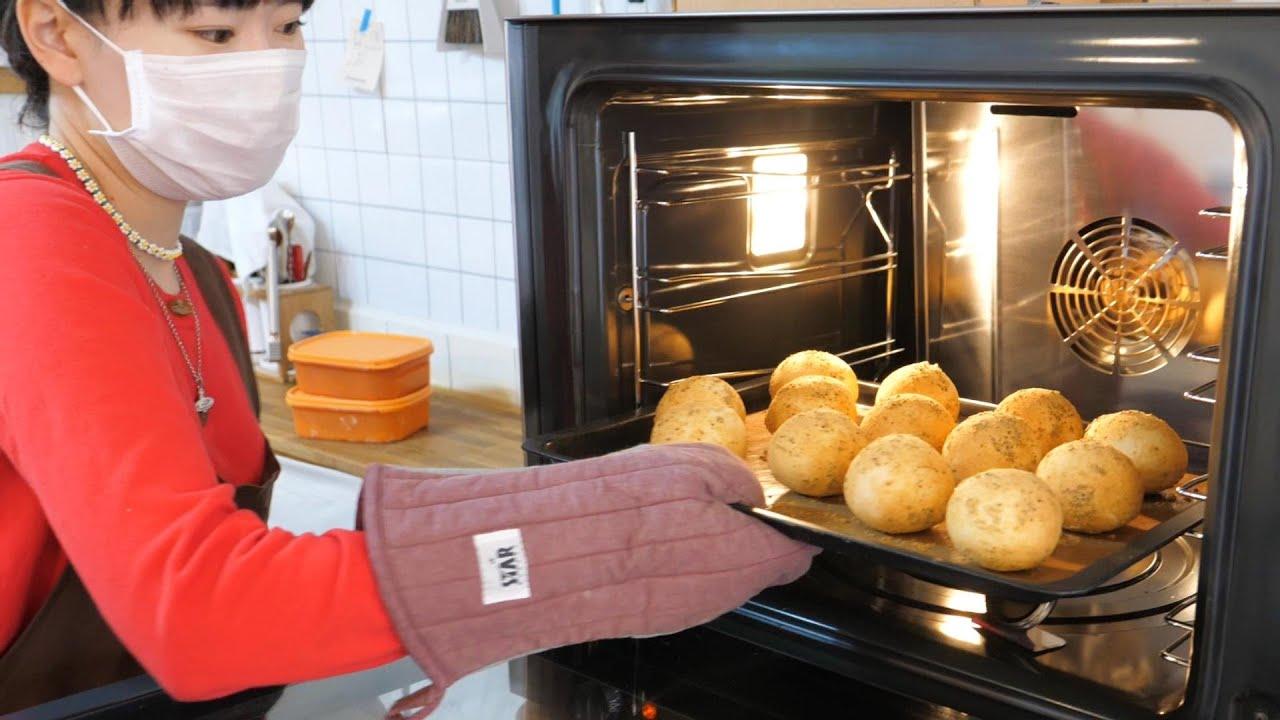 진짜보다 더 진짜 같은 감자빵과 고구마빵 fake potato & sweet potato bread - korean street food / 인천 구월동 미마인카페